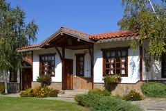 Maison traditionnelle Photos stock