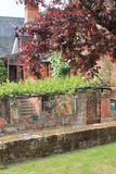 Maison traditionnelle, Collonges-la-rouge (Frankrike) Royaltyfria Foton