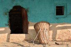 Maison traditionnelle d'Inde du nord photographie stock libre de droits