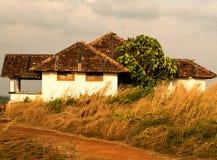 Maison traditionnelle du Kerala Image stock