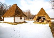 Maison traditionnelle en Transylvanie Roumanie Photo stock
