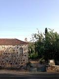Maison traditionnelle et méditerranéenne Photographie stock