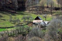 Maison traditionnelle roumaine Photos stock
