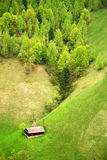 Maison traditionnelle sur un Spring Hill Photo libre de droits