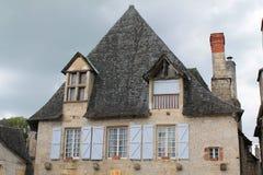 Maison traditionnelle, Turenne ( France ) Stock Photo
