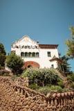 Maison Trias, de La villa 1905 du ` s dans Parc Guell Image libre de droits
