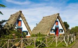 Maison type de Santana, Madère, Portugal, Photographie stock libre de droits
