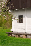 Maison type de village Photo libre de droits