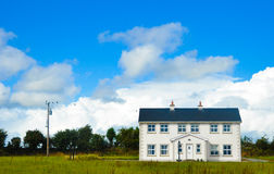 Maison type en Irlande Photo stock