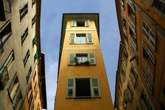 Maison type et particulière - Nice - la France photo stock