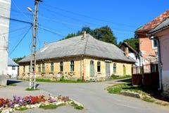 Maison typique dans le village Rosia Montana, la Transylvanie Photos libres de droits