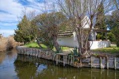 Maison typique de Gardian en Saintes Maries de la Mer - Camargue - la Provence - France image libre de droits