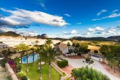 Maison typique, logeant dans Alicante, Costa Vlanca Spain photographie stock