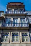 Maison urbaine à Porto Image stock