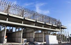 Maison urbaine Buliding en construction Photo stock