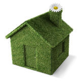 maison verte Photographie stock libre de droits