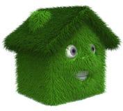Maison verte illustration libre de droits