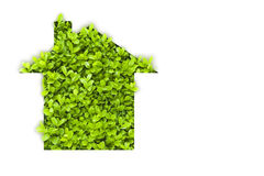 Maison verte d'Eco Photographie stock