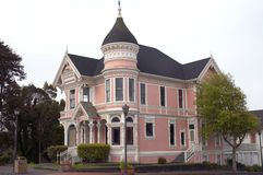 Maison victorienne Images libres de droits