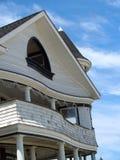 Maison victorienne Curvy de bord de la mer, plantation d'océan, NJ Photo libre de droits