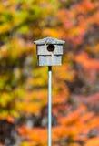Maison vide d'oiseau Photographie stock