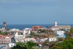 Maison visuelle FO de Carenage de famille de paix de vacances du Grenada d'amusement de mode de vie de mer de bain de la chaleur  photo stock