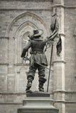 Maisonneuve statue Royalty Free Stock Photo