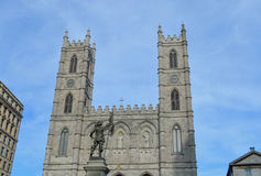 Maisonneuve statuy Montreal Starego portu okręg Obraz Royalty Free