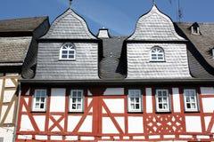 Maisons à colombage Photos stock