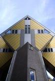 Maisons 4 de cube Photo stock