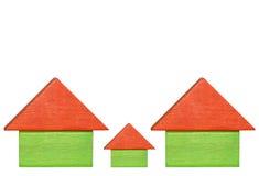 maisons illustration stock