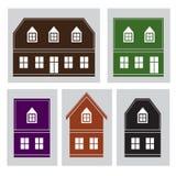 maisons Image stock