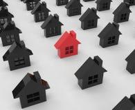 maisons illustration libre de droits