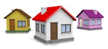 maisons Photos stock