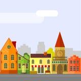 maisons Image libre de droits