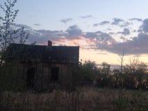 Maisons abandonnées Photos stock