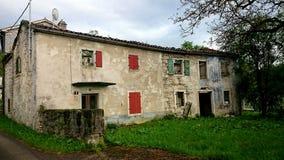 Maisons abandonnées Photographie stock libre de droits