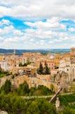 Maisons accrochantes de Cuenca Espagne image stock