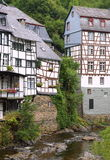 Maisons allemandes Image stock