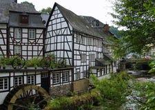 Maisons allemandes Photos libres de droits