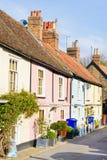 Maisons anglaises photos libres de droits