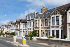Maisons anglaises Photo stock