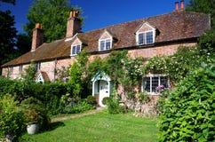 Maisons anglaises Photographie stock
