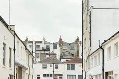 Maisons anglaises Photo libre de droits