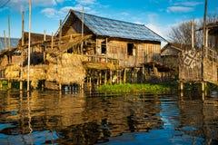 Maisons antiques Photo libre de droits