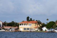 Maisons côtières Image stock