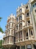 Maisons Casasayas en Palma de Majorca Photographie stock
