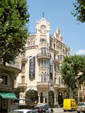 Maisons Casasayas en Palma de Majorca Photographie stock libre de droits
