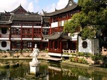Maisons chinoises Photo libre de droits