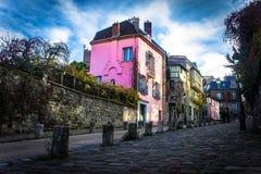 Maisons colorées Photo libre de droits